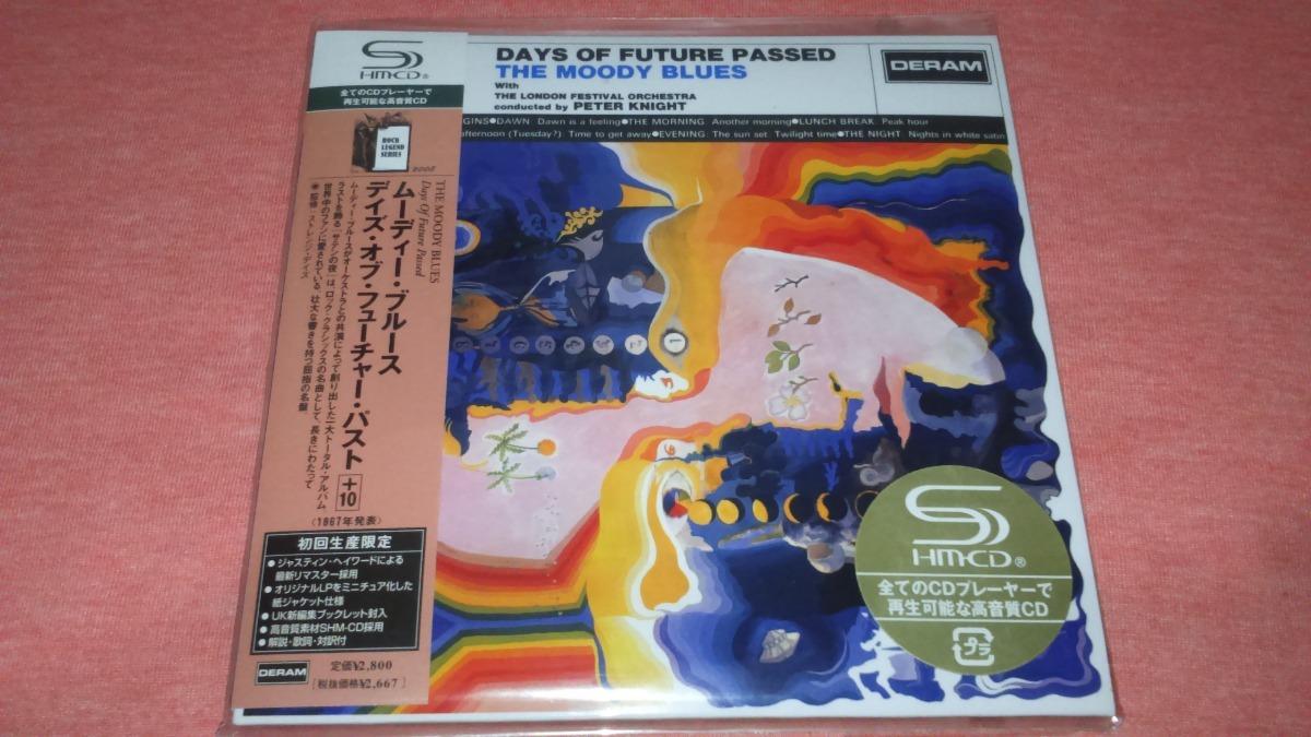 The Moody Blues - Days Of Future Passed Mini Lp Japan Shm Cd