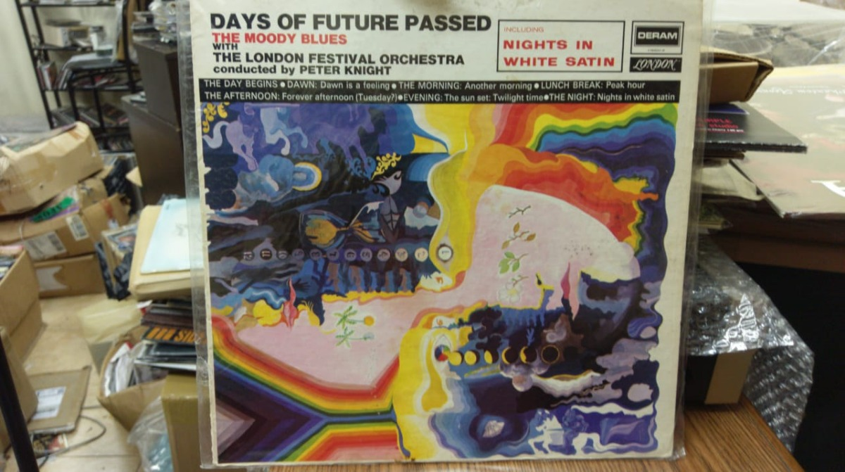 The Moody Blues Days Of Future Passed - Vinilo Usa - $ 1 099,00