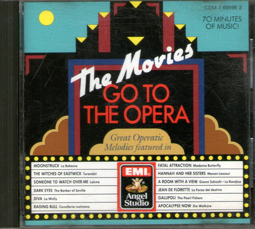 the movies go to the opera