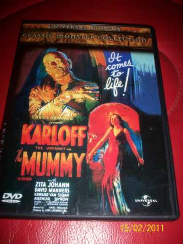 the mummy boris karloff karl freund 1932 dvd 2002