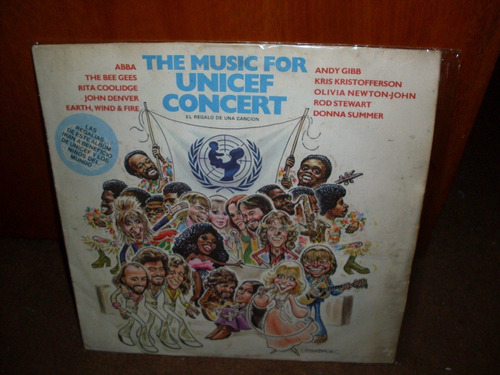 the music for unicef concert - lp compilado varios