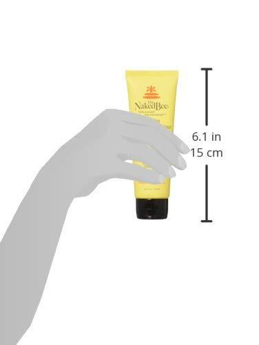 the naked bee - hidratante facial con vitamina c de 2,5 oz.