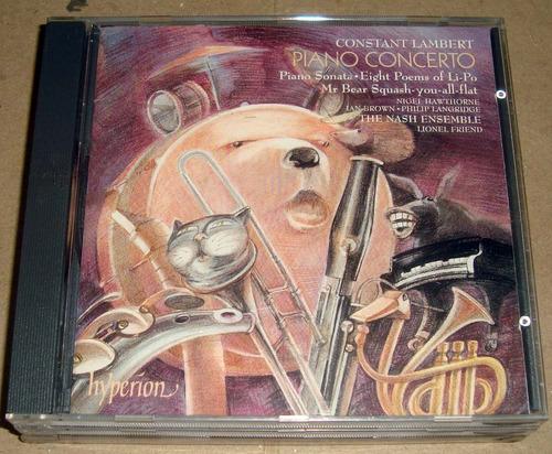 the nash ensemble constant lambert piano concerto cd ingles