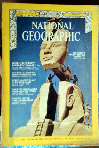 the national geographic vol. 135 n°5 may1969 - 139p buen est