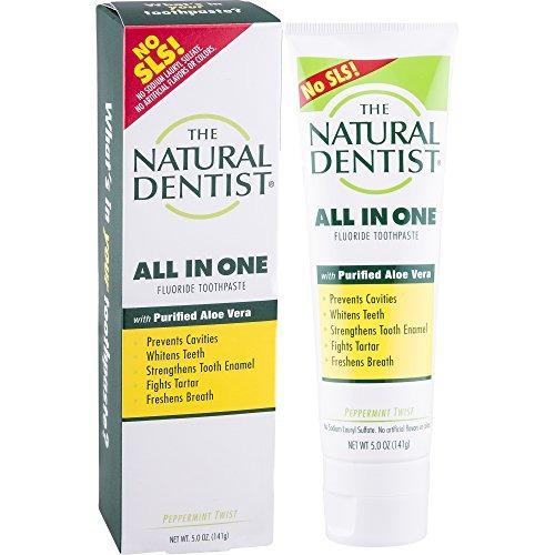 the natural dentist healthy teeth - pasta de dientes origina