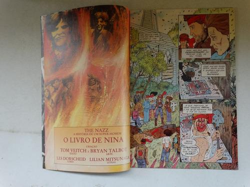 the nazz a história de um super-homem nº 4! 1992!
