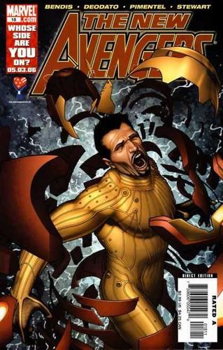 the new avengers #18 - bendis - deodato - oferta - ingles