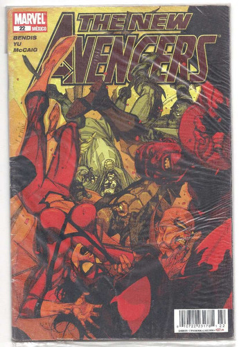 the new avengers # 22 -  editorial televisa