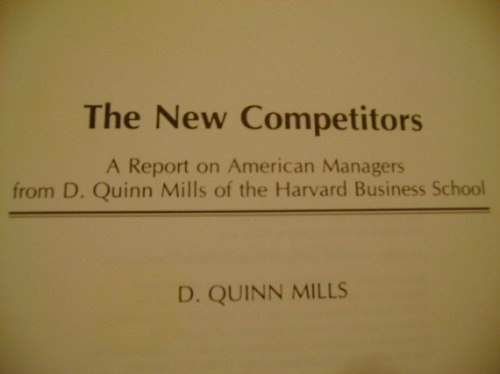 the new competitors  d. quin mills