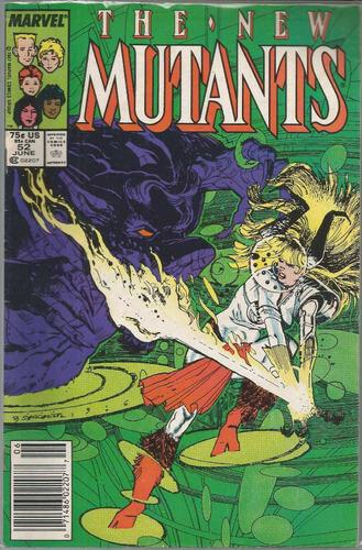 the new mutants 52 - marvel - bonellihq cx24 c19