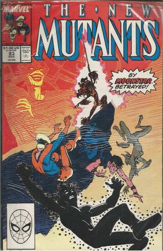 the new mutants 83 - marvel - bonellihq cx24 c19