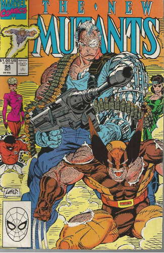 the new mutants 94 - marvel - bonellihq cx31 d19