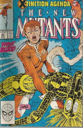 the new mutants 95 - marvel - bonellihq cx31 d19