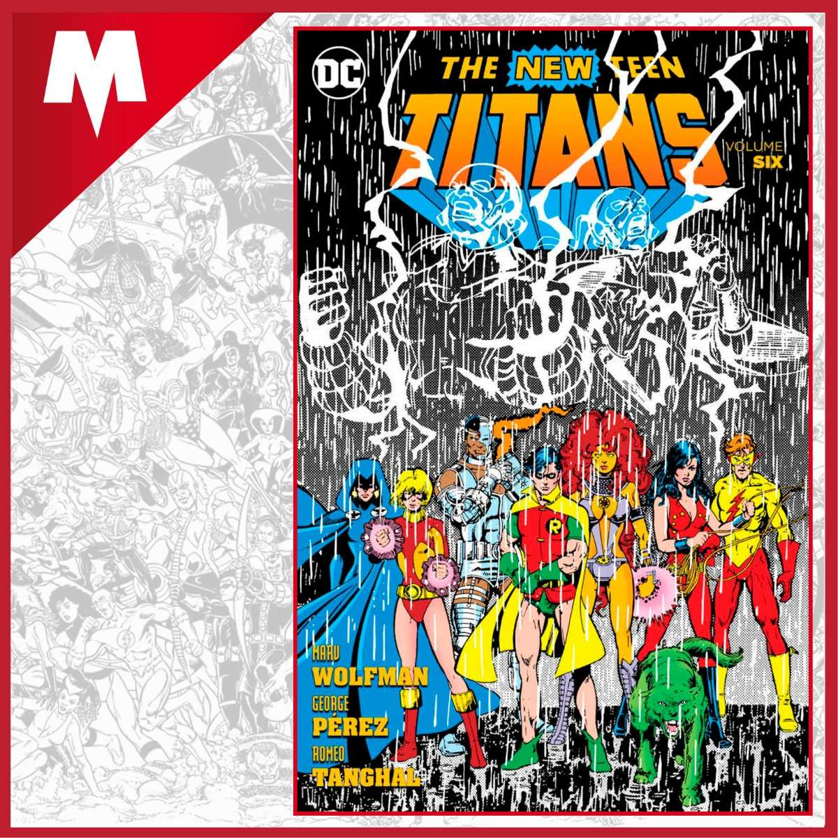 Information Teen titans dc comic