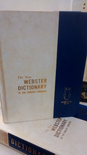 the new webster dictionary of the english language grolier