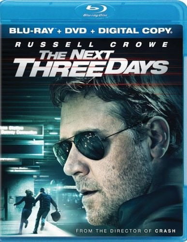 the next three days (two-disc blu-ray/dvd combo)