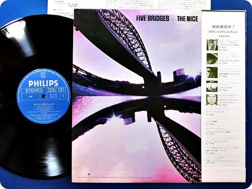 the nice.the five bridges suite.vinil import. japan. obi