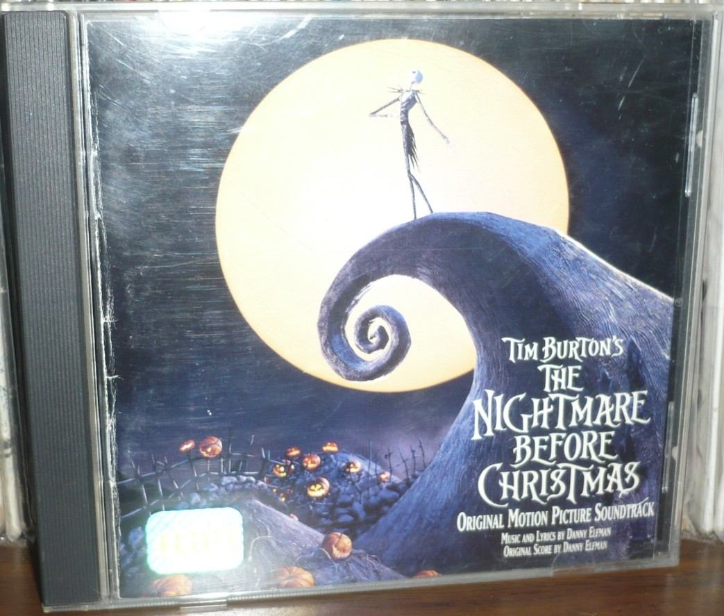 The Nightmare Before Christmas Cd Soundtrack Danny Elfman - $ 250.00 ...