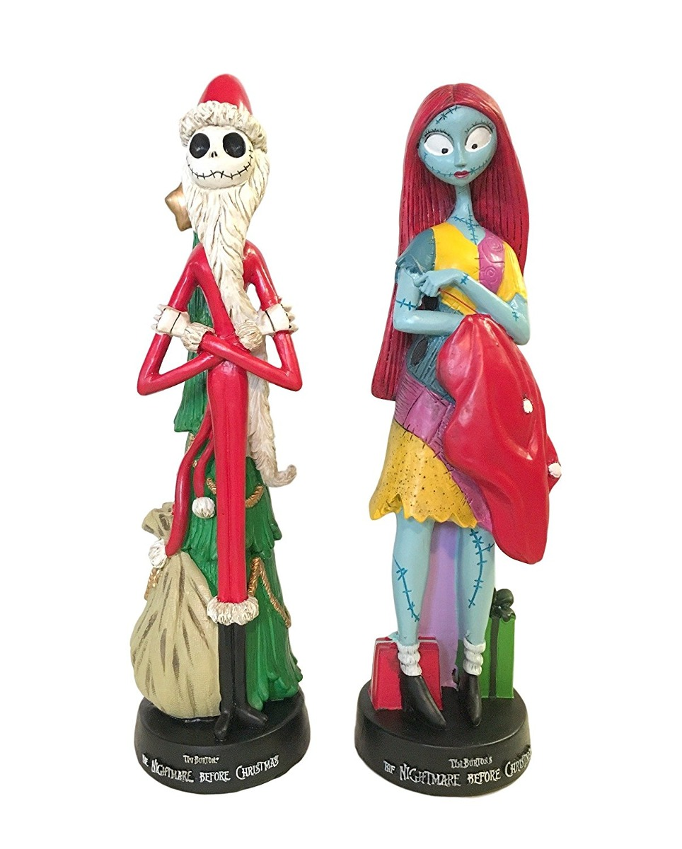 The Nightmare Before Christmas Santa Jack Skellington & S ...