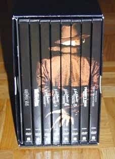 the nightmare on elm street collection platinum series
