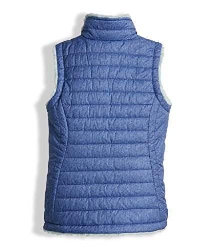 52035cb3131 The North Face Girls Reversible Mossbud Swirl Vest - Bright ...