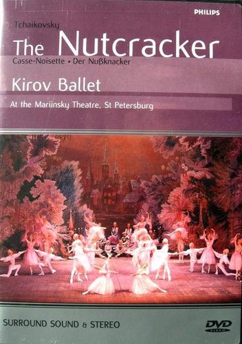 the nutcracker - kirov ballet - dvd importado ótimo estado