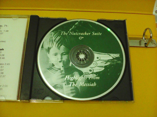 the nutcracker suite & highlights from the messiah - cd *