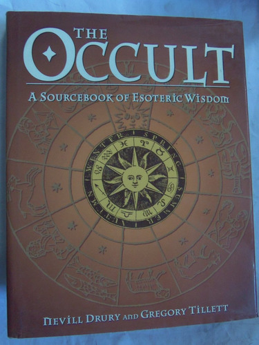 the occult sourcebook of esoteric wisdom en ingles tapa dura