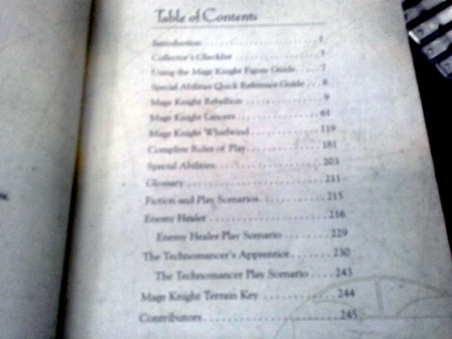 the official collector's guide to mage knight vol 1 e 2