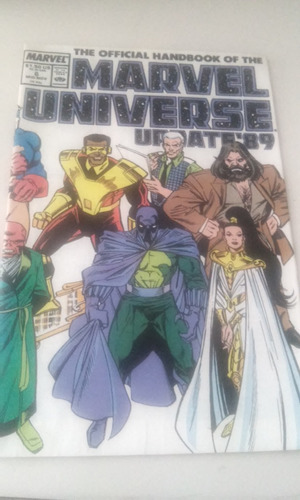 the official handbook of the marvel universe update´89 no.6