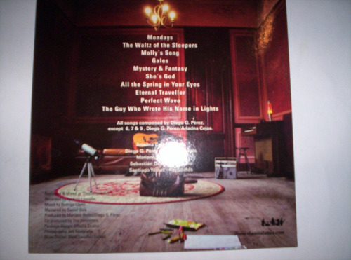 the omeletts  - the drawing & the traveler - cd nuevo