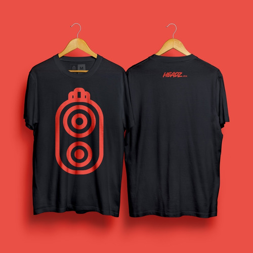 the one gun 2020  black tee headz mx original merchandise
