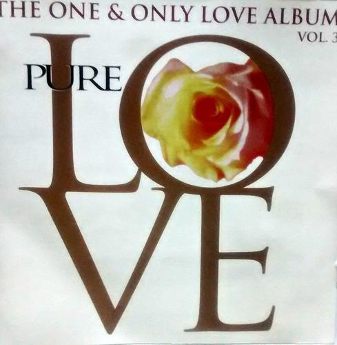 the one & only love album pure love vol.3 cd abba,nazareth..