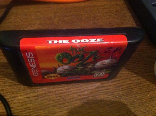 the ooze sega génesis
