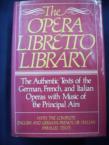 the opera libretto library - avenel