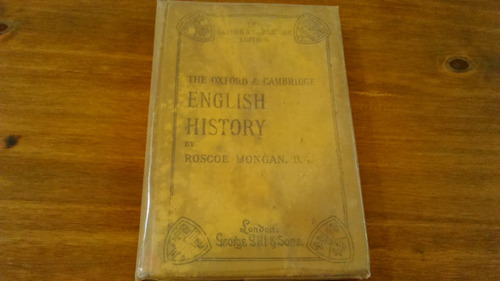 the oxford & cambridge english history 1908 roscoe mongan