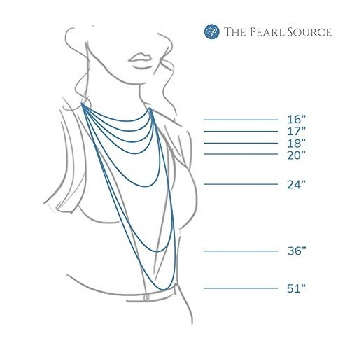 the pearl source 14k gold 5055mm aaaa quality collar de perl