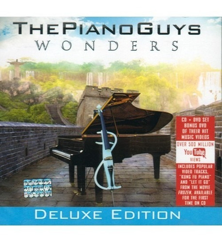 the piano guys wonders deluxe edition cd + dvd