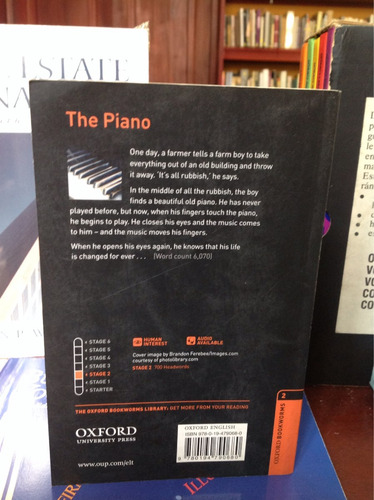 the piano - rosemary border - oxford bookworms. ingles.