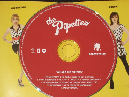 the pipettes / we are the pipettes c d 16 tracks importado