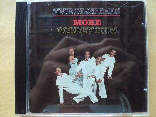the platters- cd more golden hits- 1987- original- importado