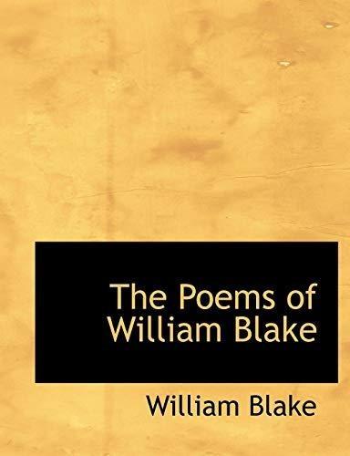The Poems Of William Blake William Blake