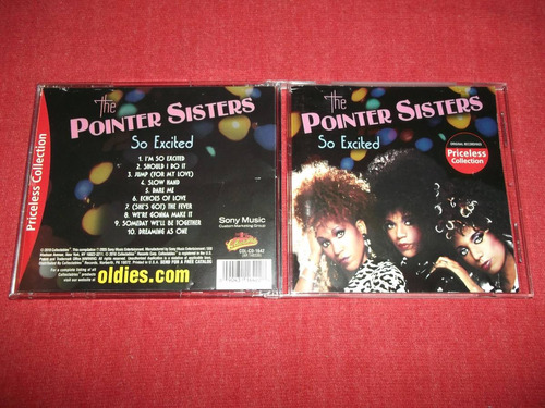 the pointer sisters - so excited cd imp ed 2010 mdisk