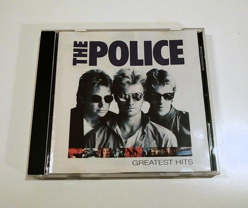 the police greatest hits   cd importado germany ex. estado
