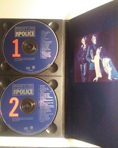 the police: message in a box: complete recordings 4cd