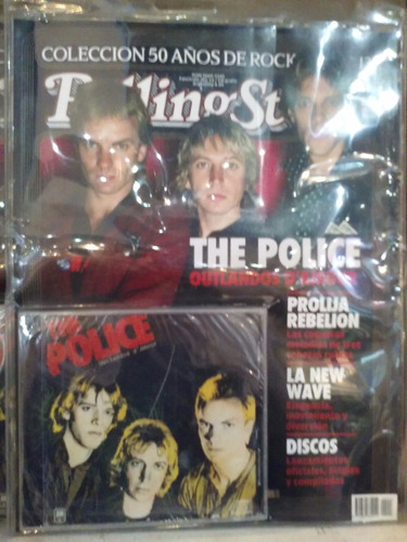 the police outlandos d´amour - cd+ revista rolling stone
