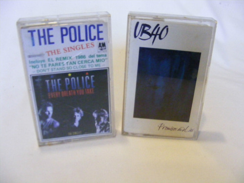 the police y ub40 cassette