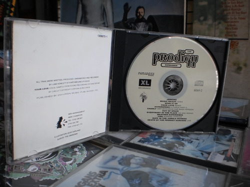 the prodigy - experience c.d. album debut impecable - 1992