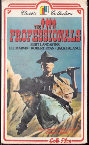 the professionals - b lancaster marvin ryan palance vhs