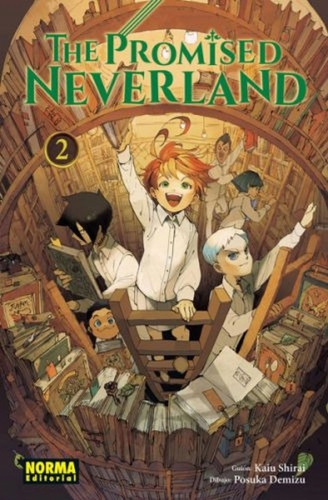 the promised neverland. tomo 2